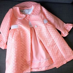 Blueberi Boulevard Dress with Coat Set, 3T, NWT